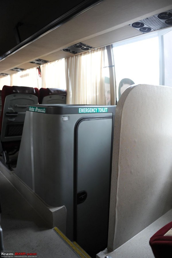Toilets in Buses