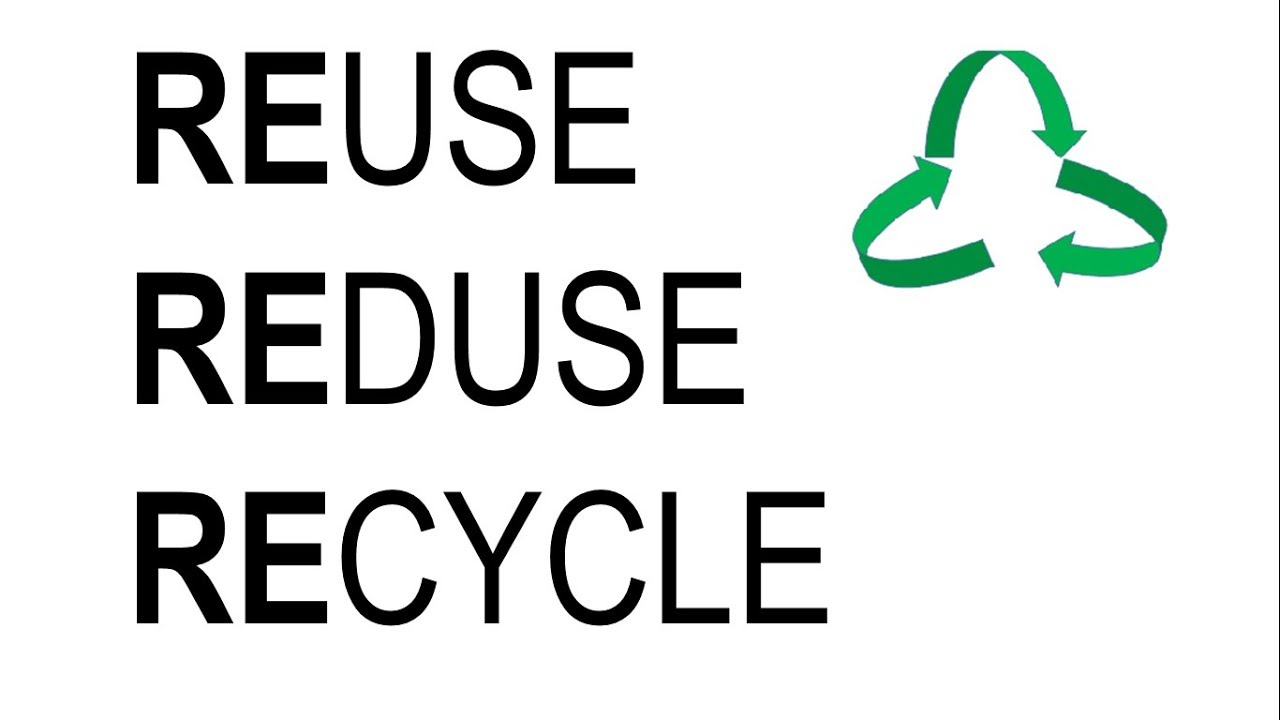 3r Mantra Reduce Reuse Recycle Golden Principle For