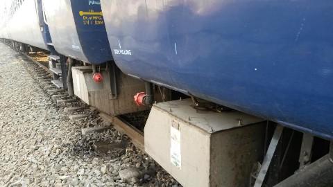 Bio toilets in trains