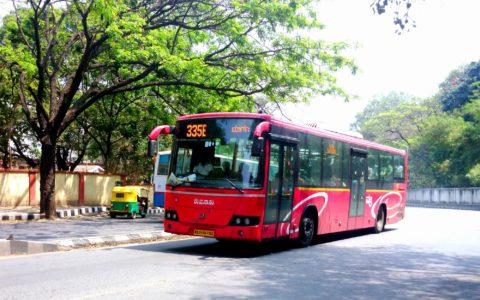 Cluster bus Delhi