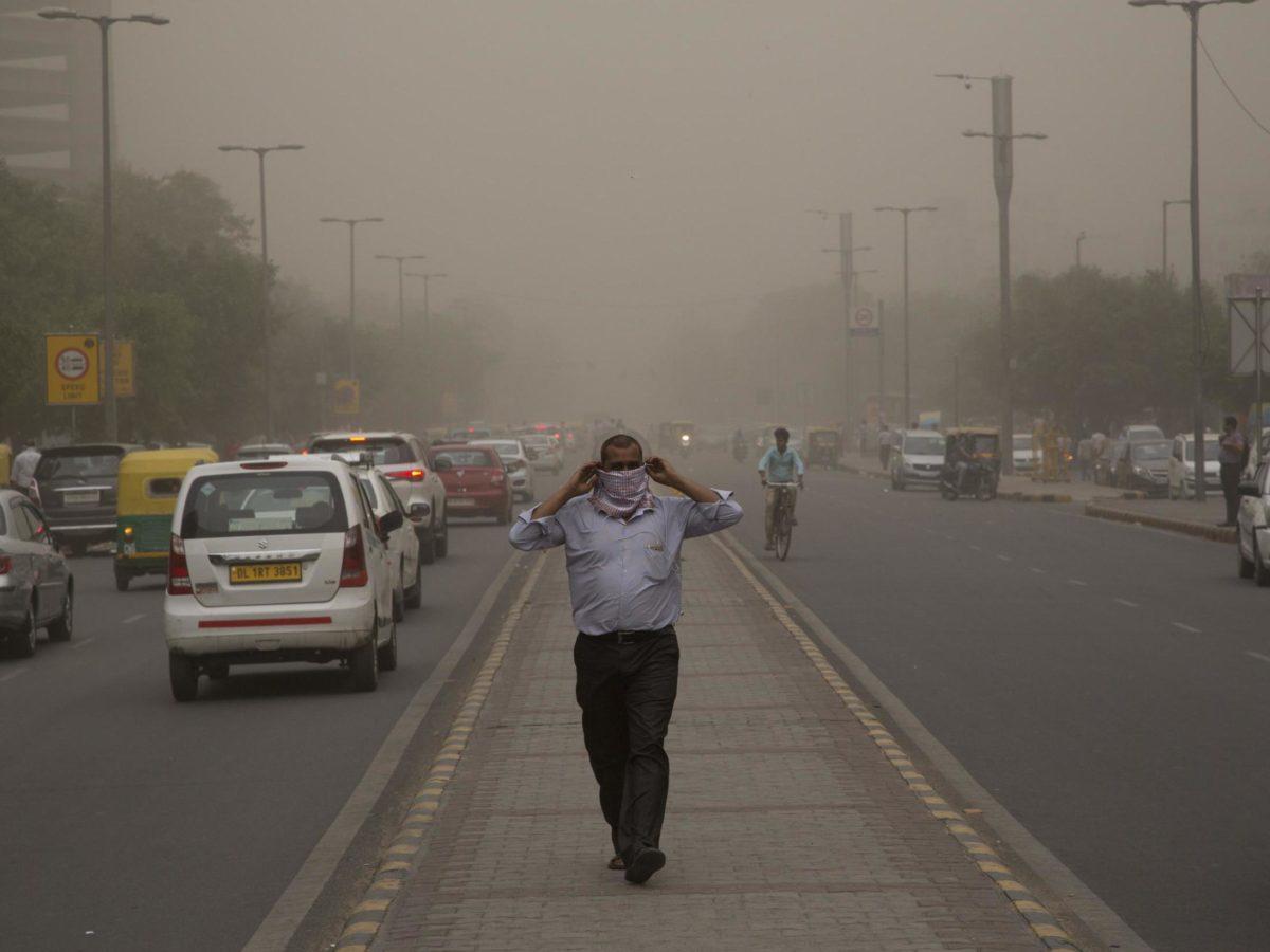 Delhi dust-storm