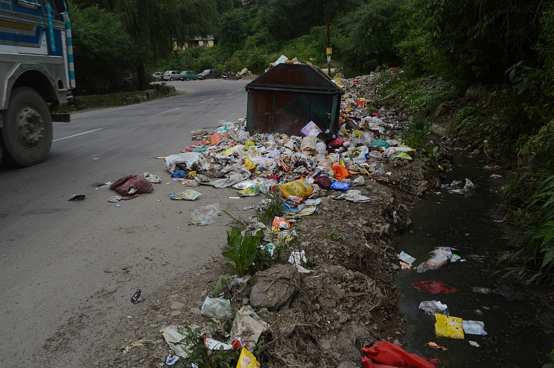 Shimla Plastic Pollution