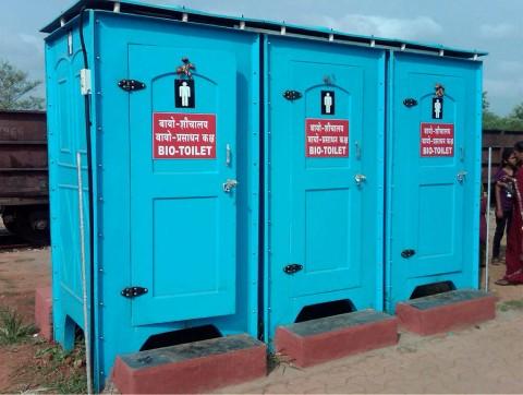 Bio Toilet Indian Railway