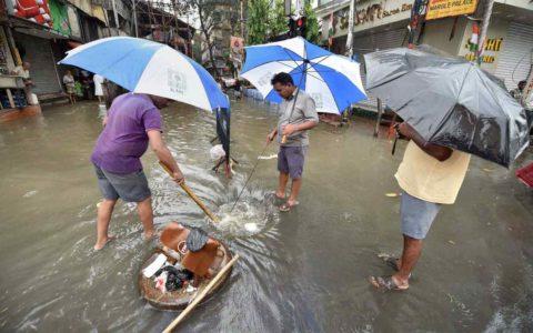 Manhole in Mumbai