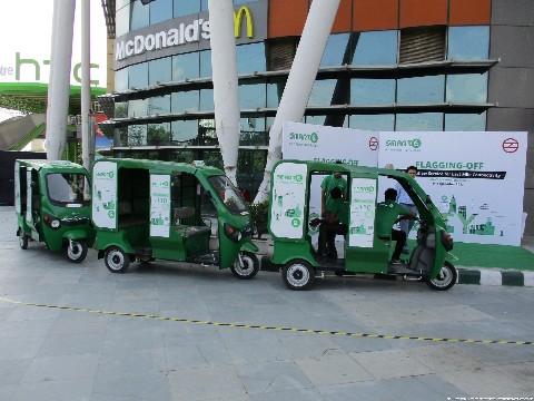 Smart E Rickshaw Dwarka