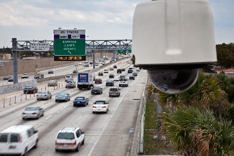 CCTV traffic monitoring