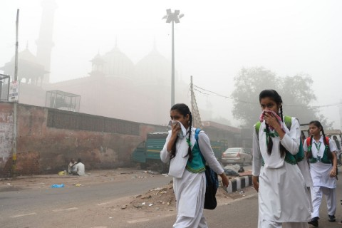 Air Pollution North India