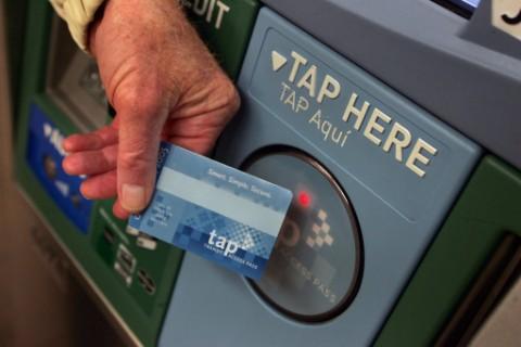 Aqua line Metro smart card
