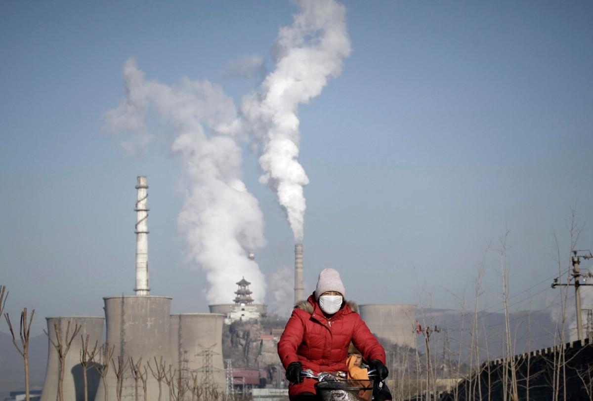air pollution davos