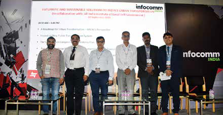'Futuristic and Sustainable Solutions to India's Urban Transportation' explored at InfoComm 2018