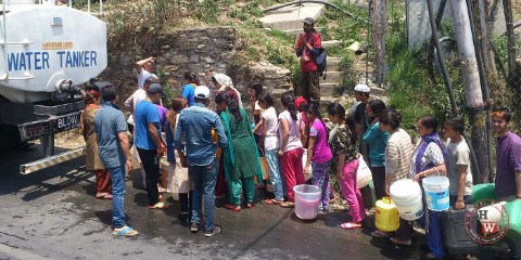 shimla water project