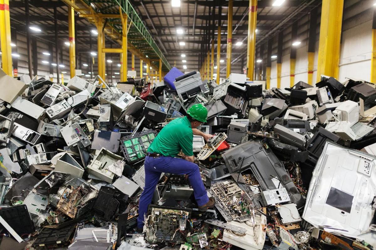 e waste plant