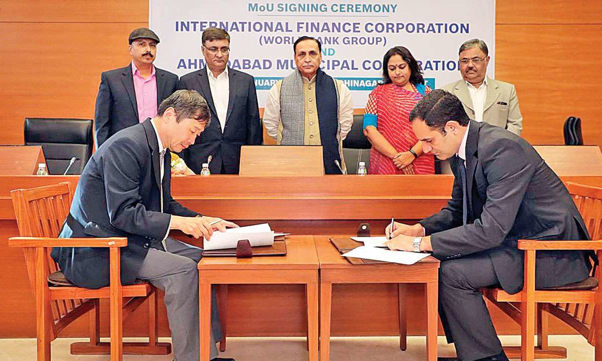 vijayrupani-bijalpatel-World-Bank-MoU-AMC-IFC