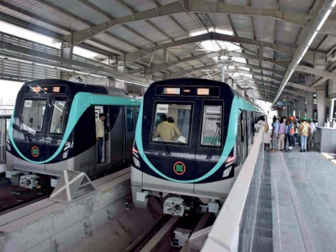 delhi metro aqua line