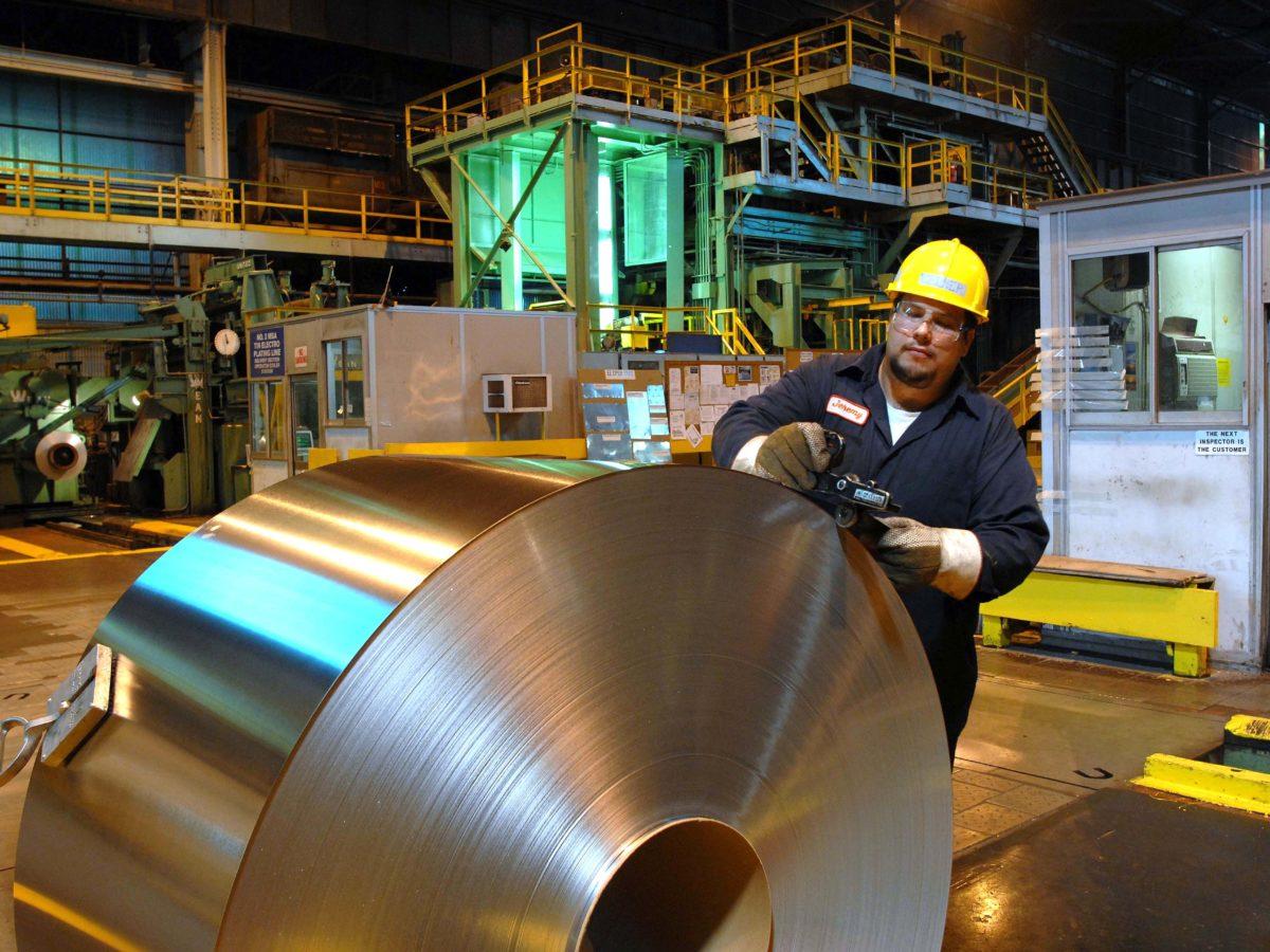 steel picking units
