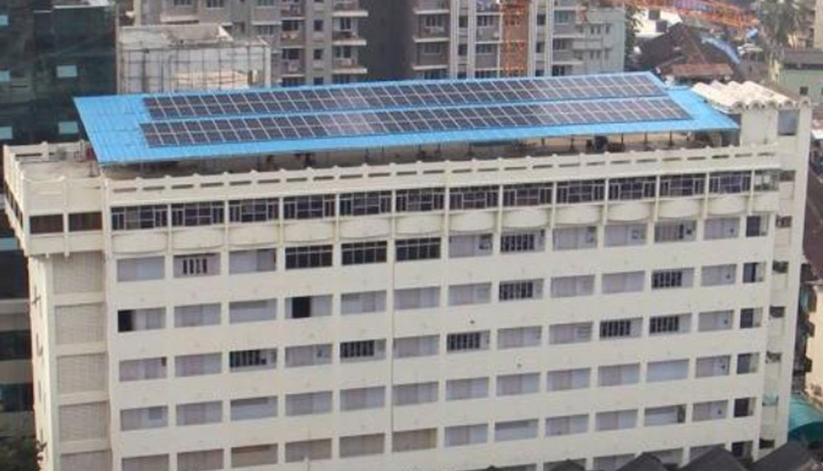 first solar-powered campus in south Mumbai