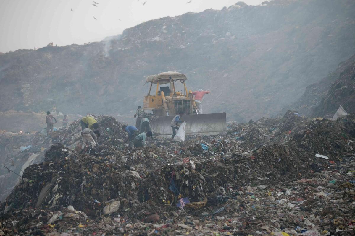 Bhalswa landfill