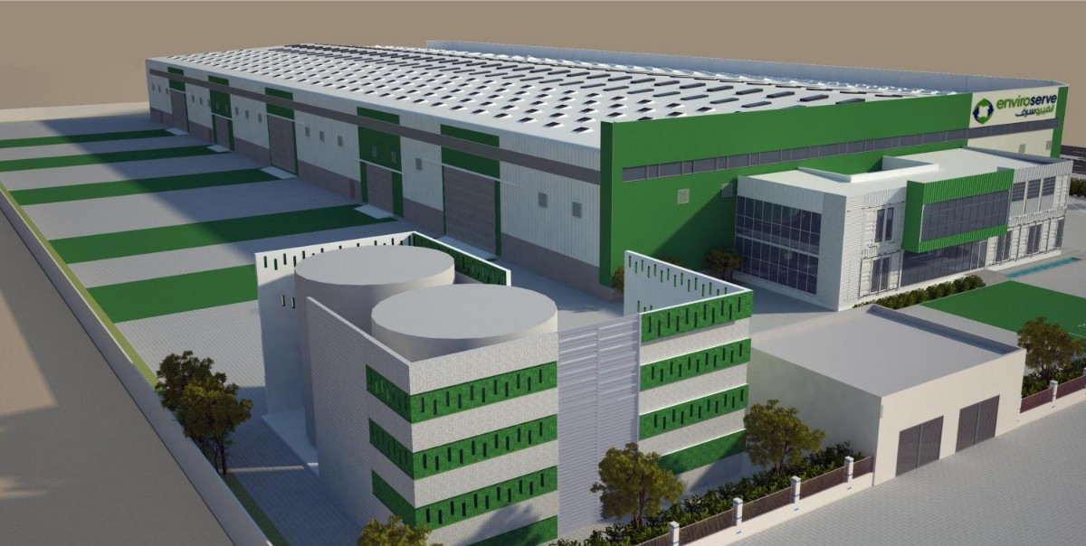 largest e-waste recycling plant