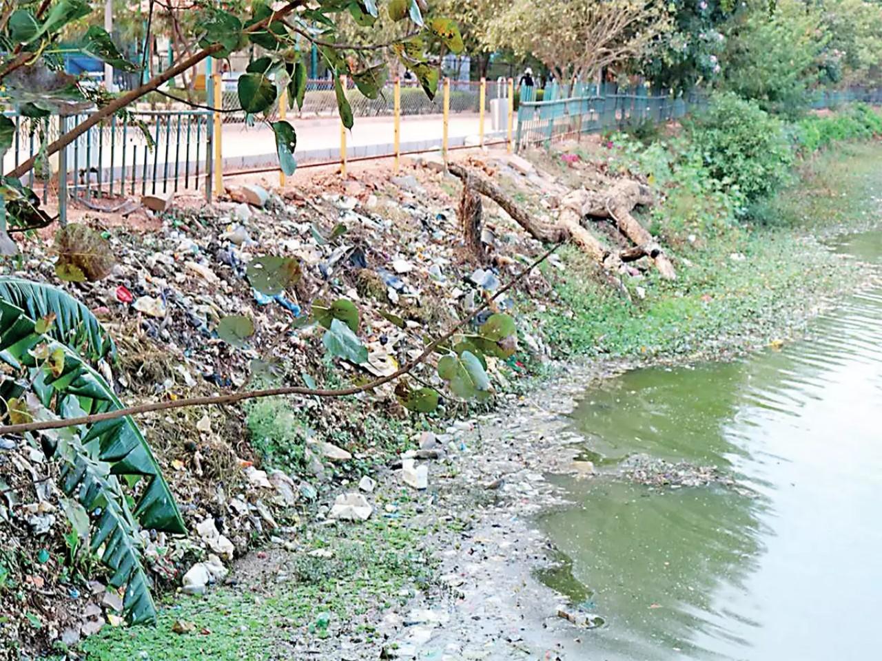 Ulsoor lake in Bengaluru turns into garbage bin