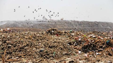alternative solutions for Pirana landfill except capping