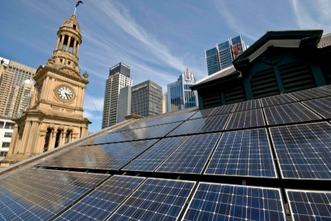 Sydney is all set to work towards its renewable energy target
