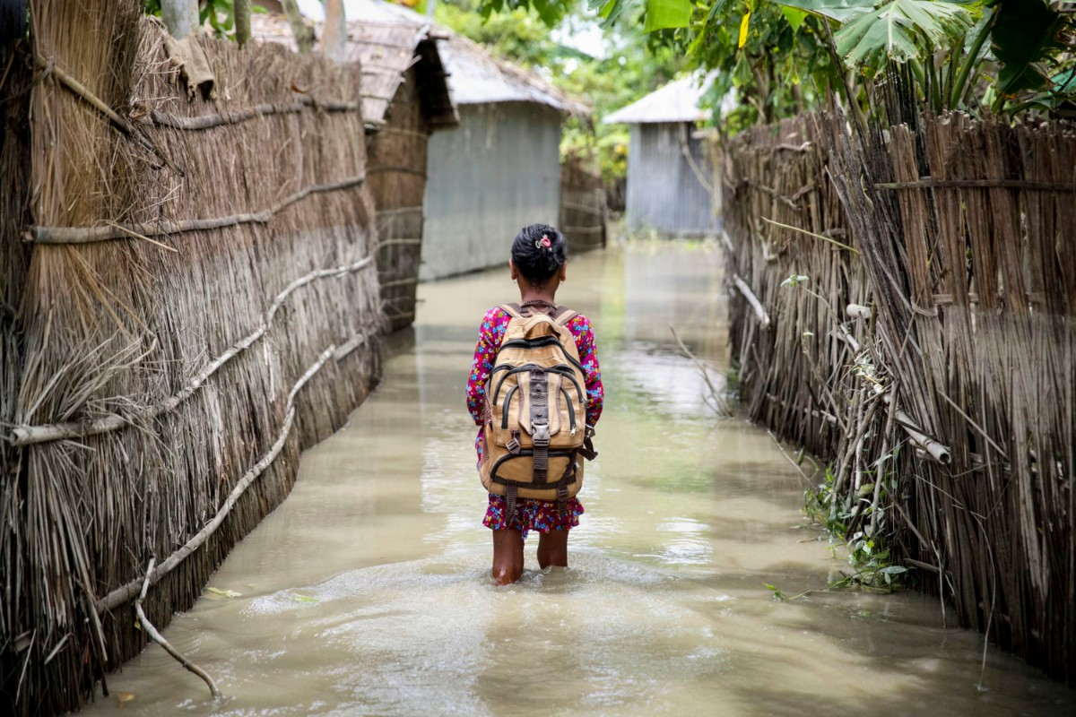 Over 19 million kids in Bangladesh at risk from climate change