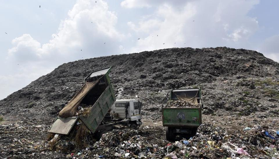 NGT-CPCB-Bhalswa landfill-Pollution