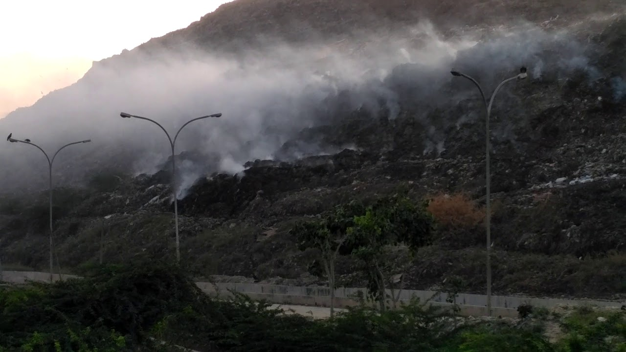 fire at ghazipur landfill
