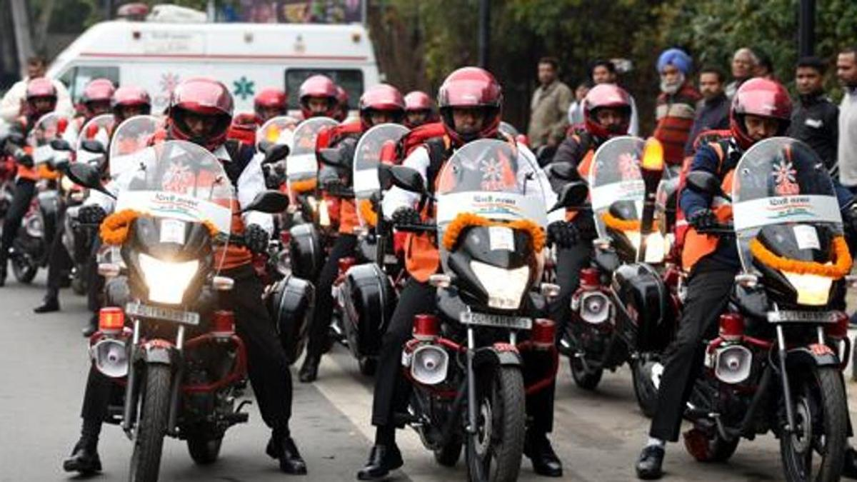 Bike ambulances roll out to reduce heart attack deaths