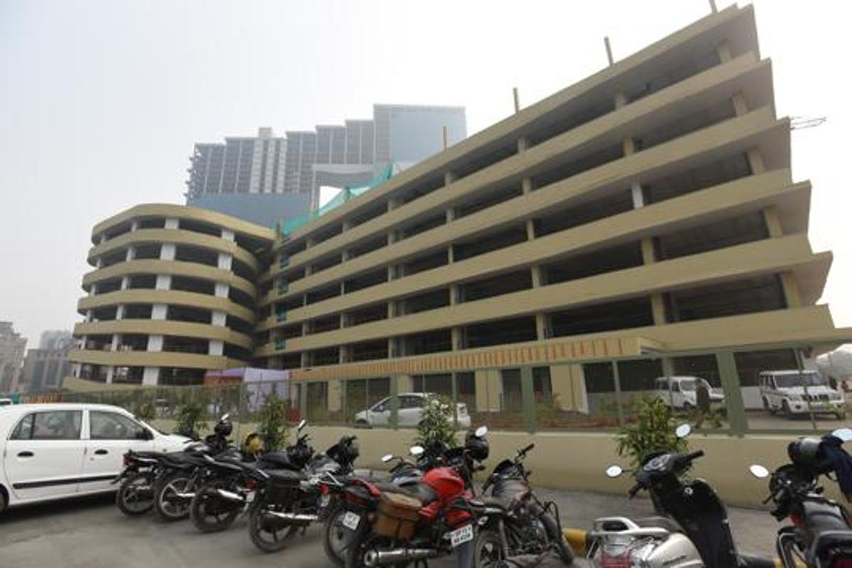 Multi-level car parking lots in congested localities planned