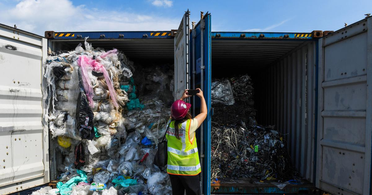 Malaysia to return 3,000 metric tonnes plastic waste to 14 countries
