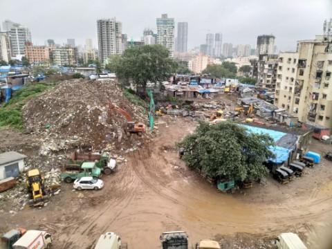illegal debris dumping