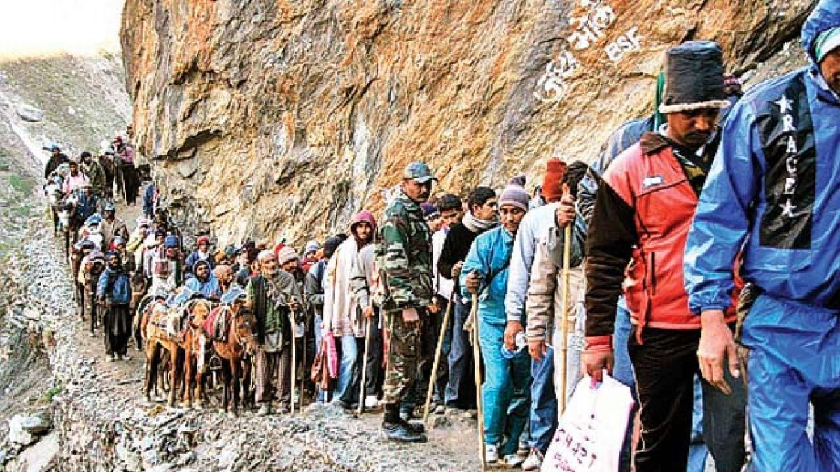 2850 toilets to come up along Amarnath yatra route