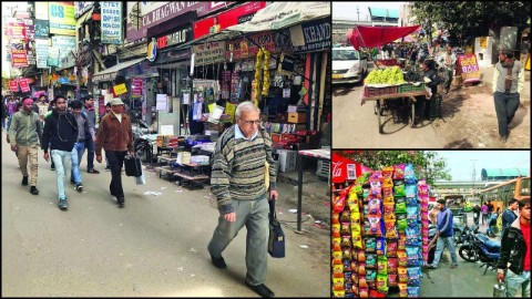 clear encroachments on footpath