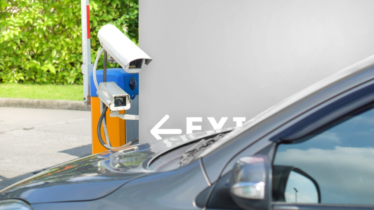 Number plate recognition system