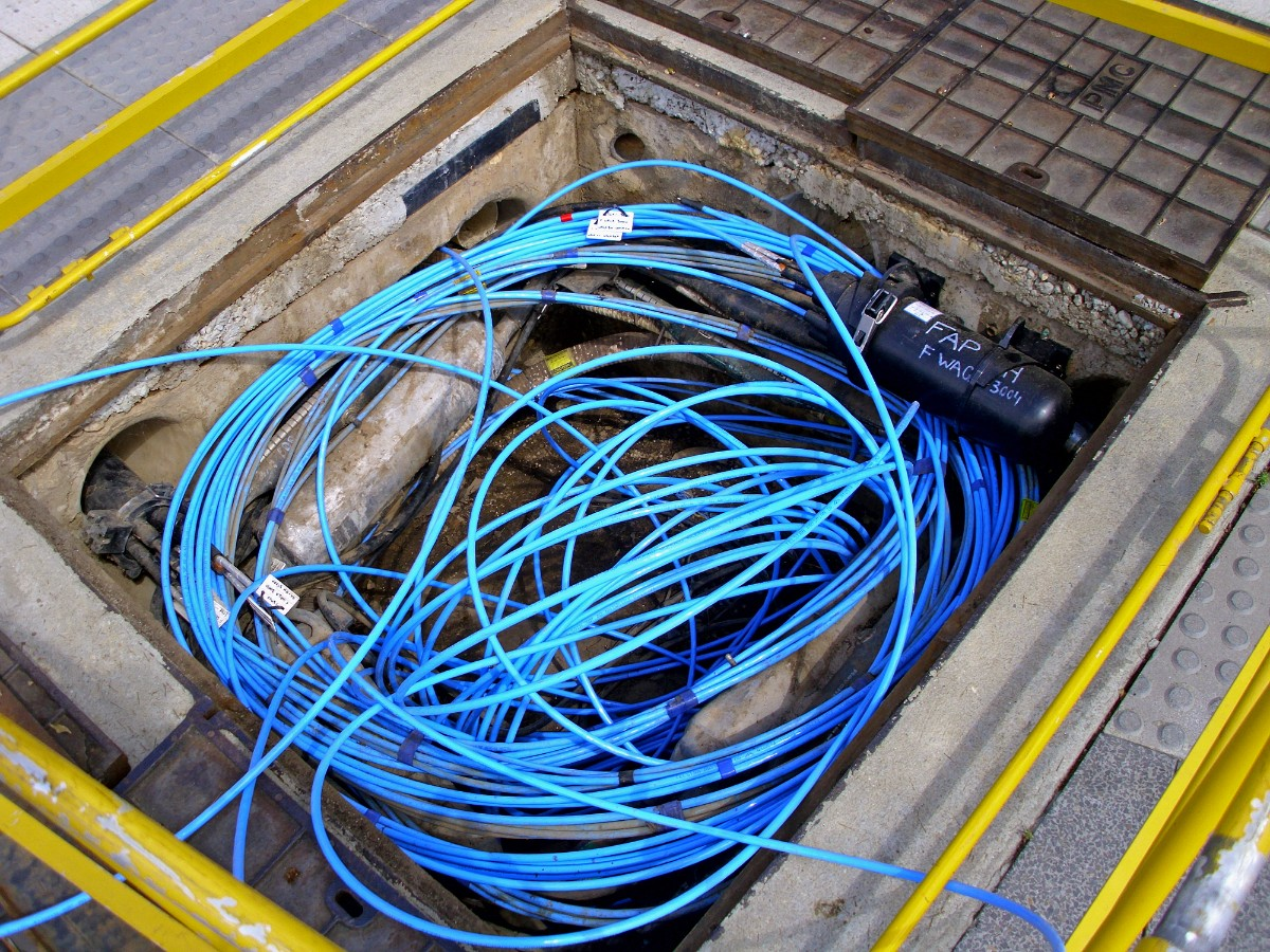 CMC will soon lay down optical fiber cable