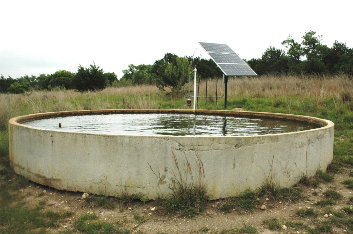 Private agricultural wells to fulfill water demand