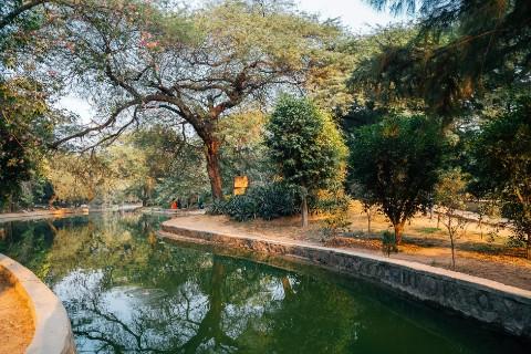 Heritage lakes in Delhi