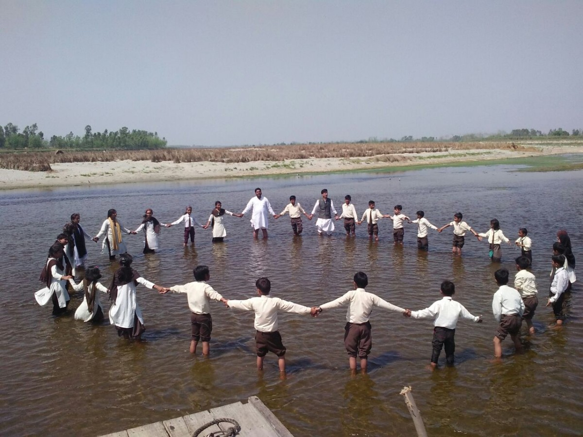 awareness on pollution in Yamuna
