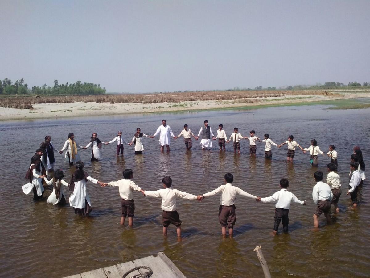 awareness on pollution in Yamuna