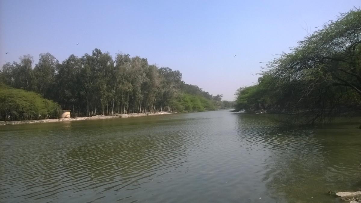 DJB to create lake behind Raj Ghat