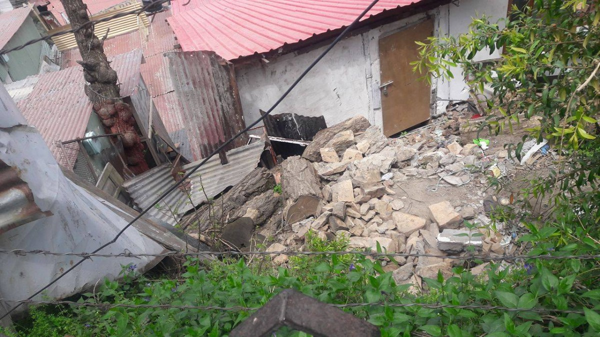 action against illegal structures at Triund