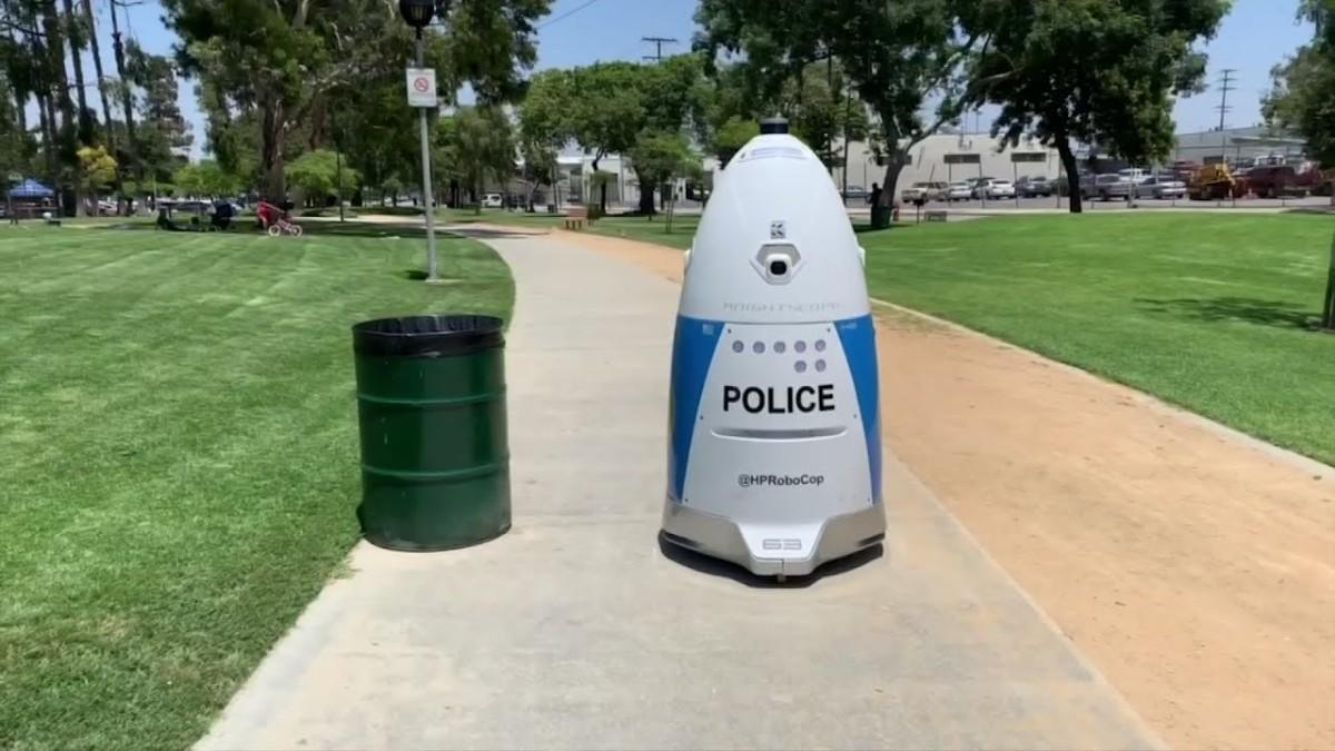 Robocop to patrol California