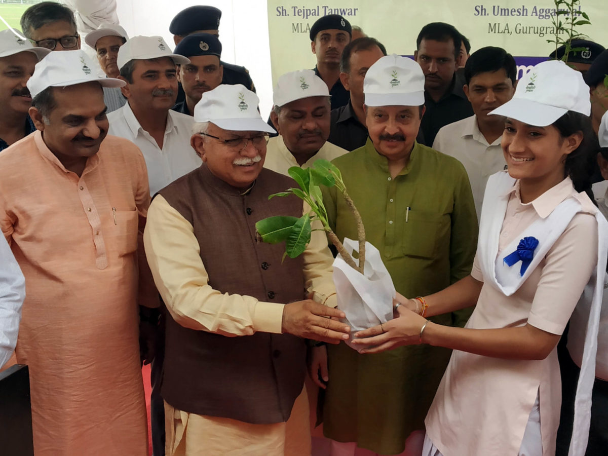 Haryana CM launches 'Paudhagiri' to increase state's greenery