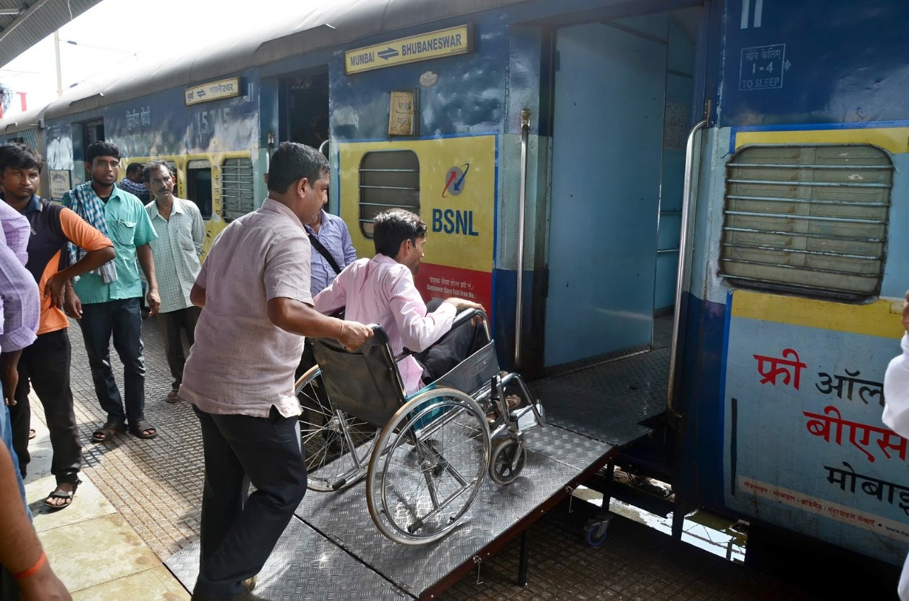 SCR turns 60 stations to disabled friendly