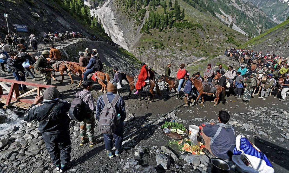 Sanitation campaign launched for Amarnath Yatra
