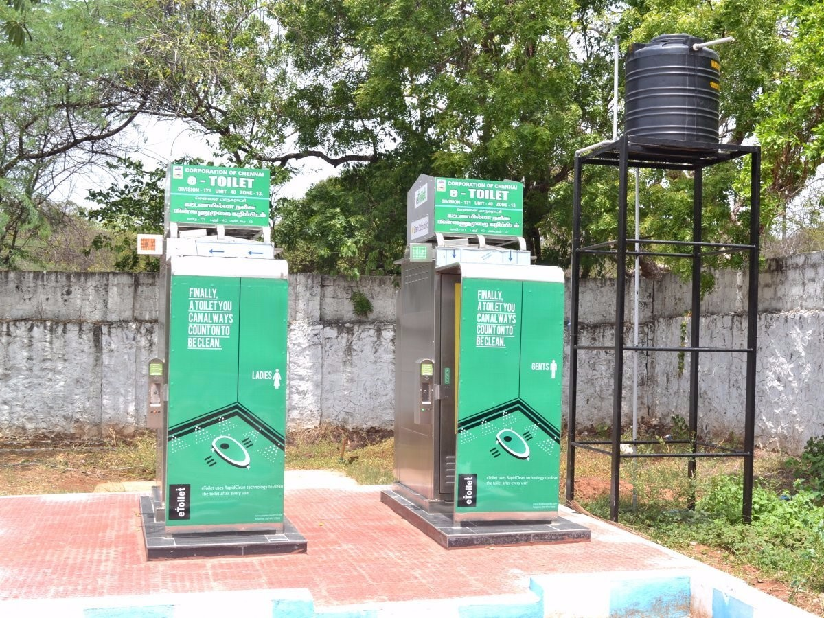 Smart public toilets to come up in Warangal