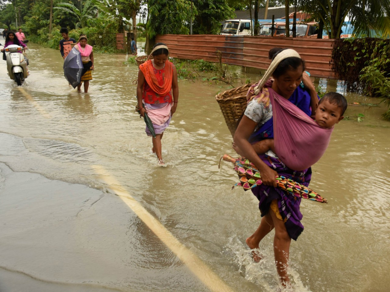 North-east India struggles with massive floods