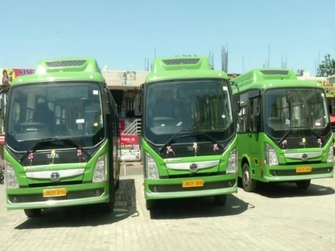 J&K authorities to commission 20 e-buses