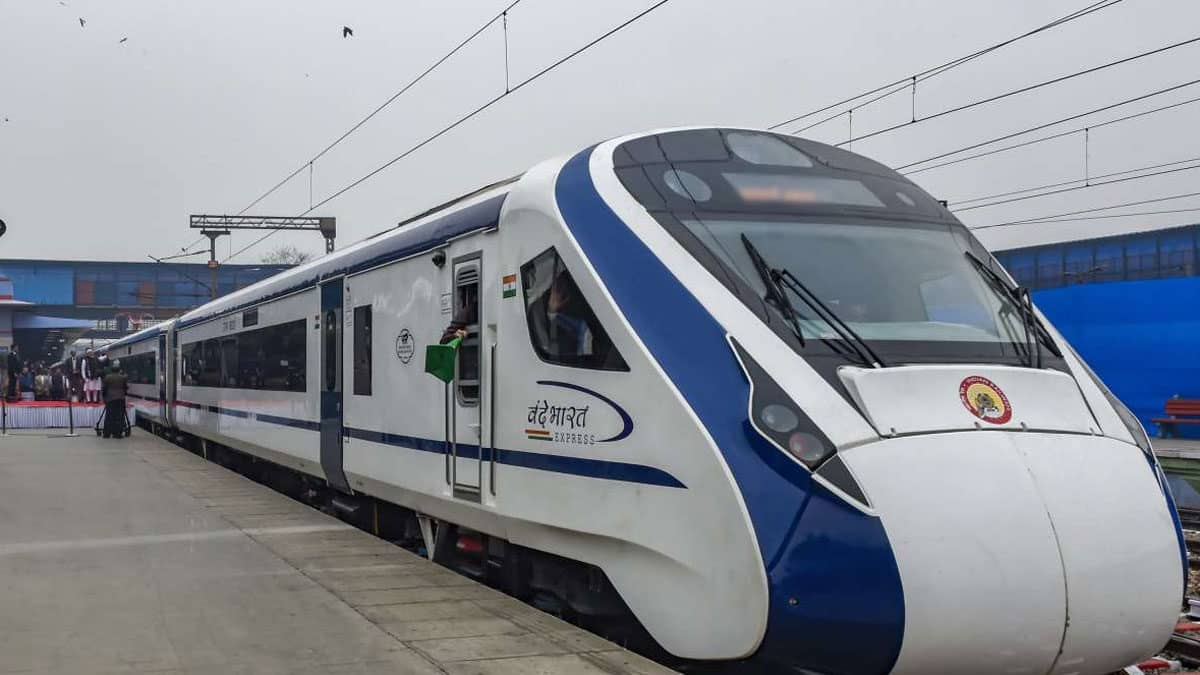 Vande Bharat successfully completes first trial